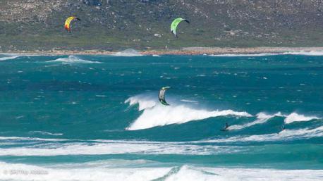 super spot de kitesurf à Cape Town