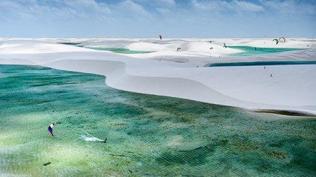 Découvrez les dunes de la région de Atins au Brésil