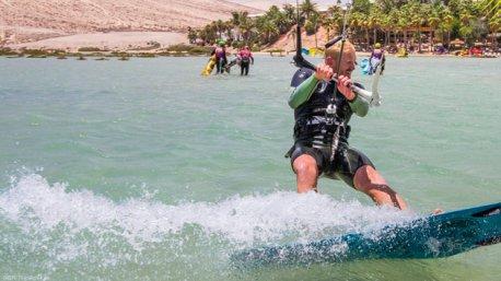 Un séjour kitesurf de rêve avec hôtel 4 étoiles sur le lagon de Sotavento