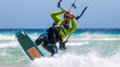 Un séjour kitesurf de rêve sur le spot mythique de Sotavento aux Canaries