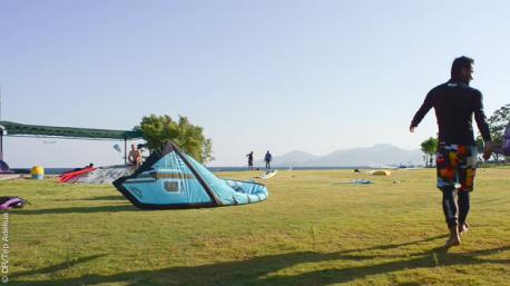le spot de kitesurf de datca
