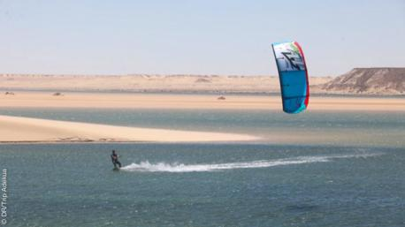 Coaching kite à Dakhla avec video et debrief