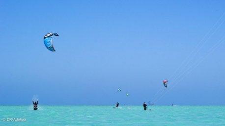 kite en mai à El Gouna