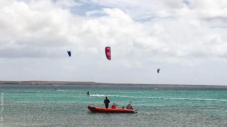 Naviguez en kitesurf en toute sécurité au cap Vert