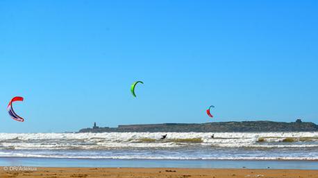 séjour kite en famille à Essaouira