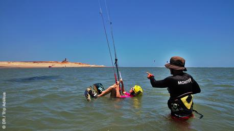 Pour les kitesurfeurs de tous niveaux, un spot idéal au Brésil