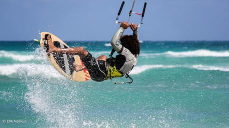 votre stage kite strapless au cap vert à sal