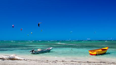 le spot de kitesurf de Buen Hombre en Rep Dom
