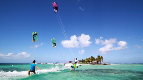 vacances kitesurf en Guadeloupe