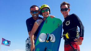 Kitesurf au Brésil à Pontal de Maceio avec l'expert local Trip Adékua Kaelig et son équipe