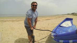 sejour kite et stage à Djerba pour Romain