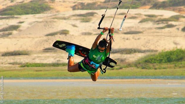 Kitesurf camp pour les rideuses en septembre à Lagoinha