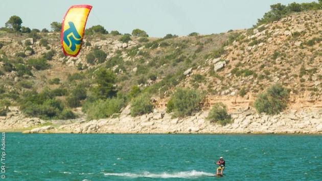 stage de kite près de Barcelone