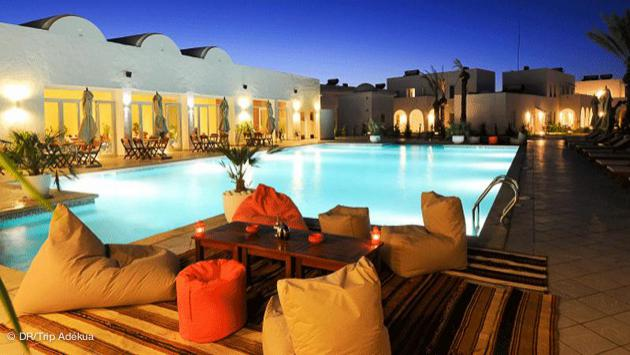 votre résidence hotel près du club de kitesurf à Djerba