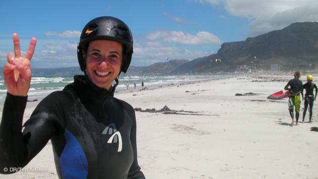 condtions de kitesurf à Cape Town pour tous les niveaux grâce aux conseils de Patrice