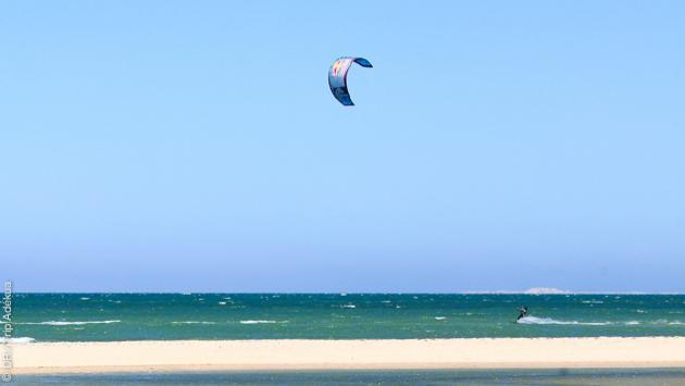 nouveau spot de kite à Dakhla