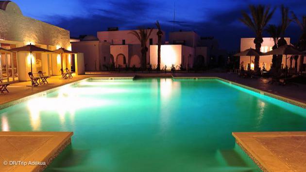 la piscine de votre appart hotel à Djerba près de Smile Beach