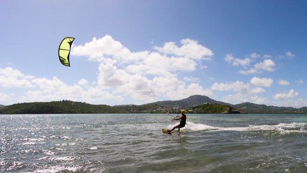 Votre séjour kitesurf en Martinique