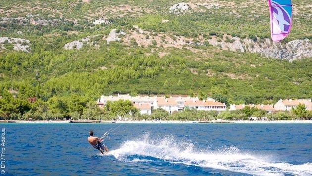 Naviguez en kitesurf sur les plus beaux spots de Croatie