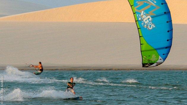 Votre séjour kitesurf à Jericoacoara au Brésil