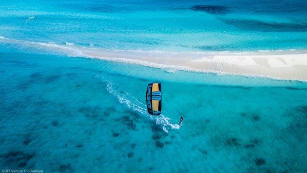 Vacances kitesurf au paradis de Los Roques