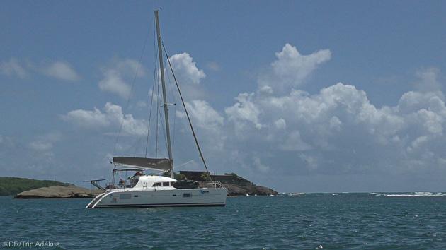 Votre catamaran tout confort pour un séjour wingfoil en Martinique