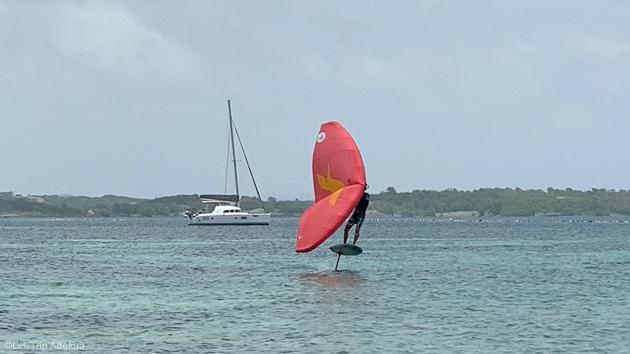 Votre croisière catamaran avec wingfoil en Martinique