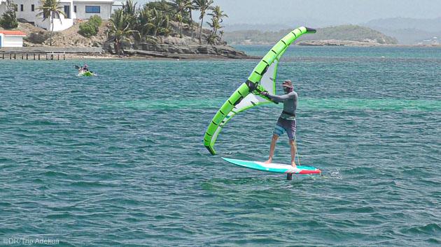 un séjour wingfoil de rêve en Martinique