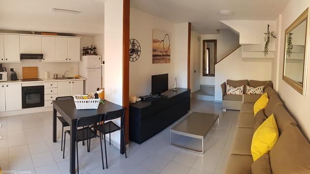 Un duplex tout confort pour 4 personnes sur le spot de El Medano à Tenerife