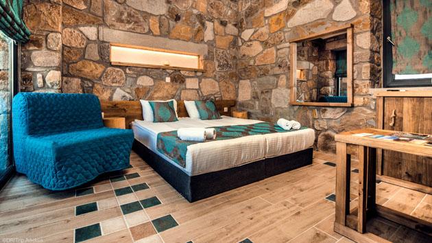 Votre séjour wingsurf en Grèce avec hôtel tout confort face au spot