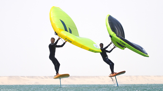Progressez en wingfoil avec 10 heures de cours sur la lagune de Dakhla